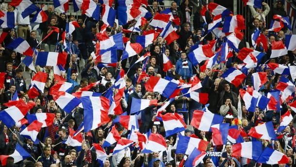 Ganz Wembley will die Marseillaise singen