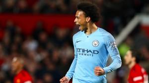 Sané schießt Manchester City zurück an die Spitze