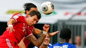 Bayern wechseln den Sieg ein