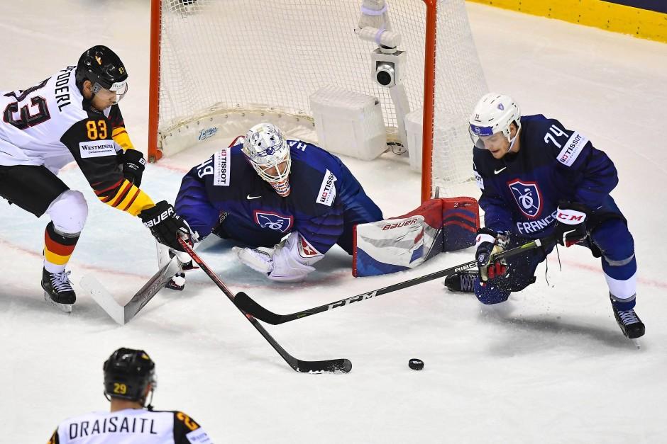 Alles auf Angriff: Die deutsche Eishockey-Nationalmannschaft ist auch bei der WM selbstbewusst.