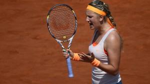 Asarenka und Scharapowa im Halbfinale