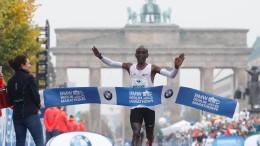 Kipchoge verpasst Weltrekord in Berlin