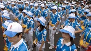 Wie kommen Sportler mit Chinesen in Kontakt?