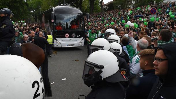 Kein Bundesliga-Soli für Polizeieinsätze