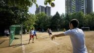 Fußball ohne Flüchtlingskinder