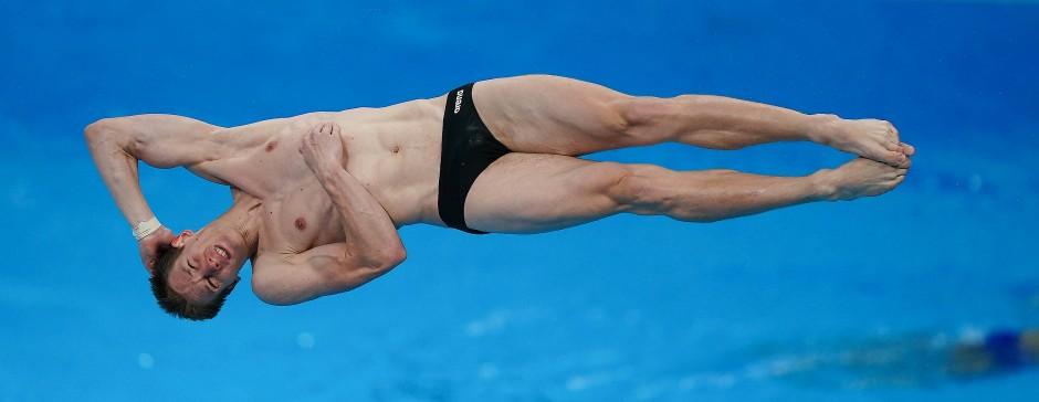 Patrick Hausding ist erfolgreicher Wasserspringer des deutschen Teams.