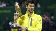 Djokovic siegt in Doha