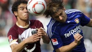Leverkusen im Glück, Ballack hat Pech