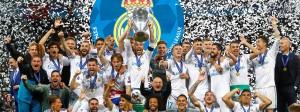 Real Madrid holt zum dritten Mal in Serie die Champions League.