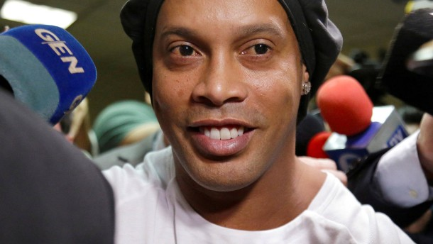 Ronaldinho hatte nur noch wenige Euro auf dem Konto