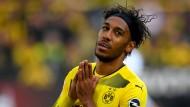 Wie lange spielt Pierre-Emerick Aubameyang noch im Dortmunder Trikot?