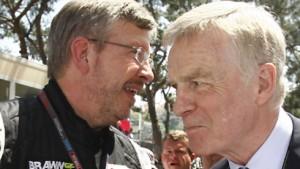 Machtkampf  in der Formel 1