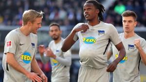 Hertha siegt nach Theater um Klinsmann