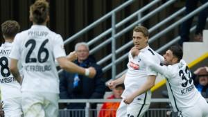 Der SC Freiburg ist zurück in der Bundesliga