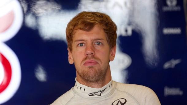 Sebastian Vettel stellt den Wagen ab und wird hart bestraft