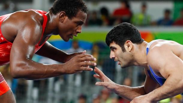 Iranischer Ringer musste verlieren