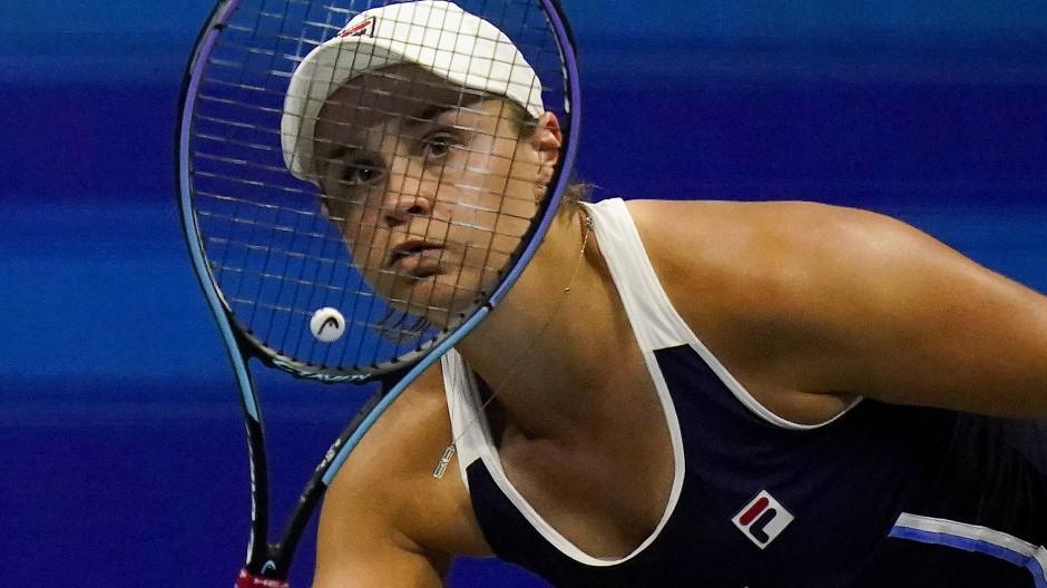 Für Ashleigh Barty sind die US Open schon wieder vorbei.
