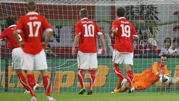 DFB-Gegner nicht in Form