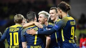 Leipzig zerlegt AS Monaco