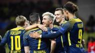 Der erste Auswärtssieg in der Champions League: gelungener Betriebsausflug für RB nach Monte Carlo