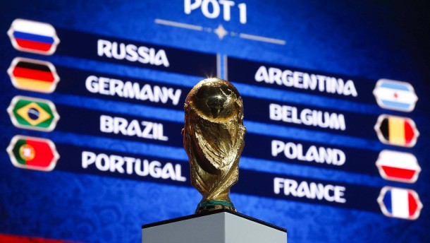 So läuft die Auslosung der WM-Gruppen