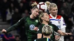 Wolfsburg wahrt Chance im vorweggenommenen Endspiel
