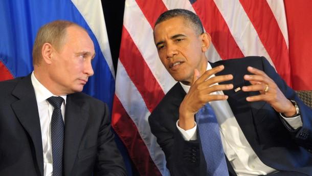 Kampfplatz für Putin und Obama