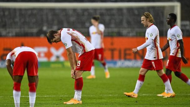 RB Leipzig unter Zugzwang