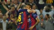 FC Barcelona souverän im Halbfinale