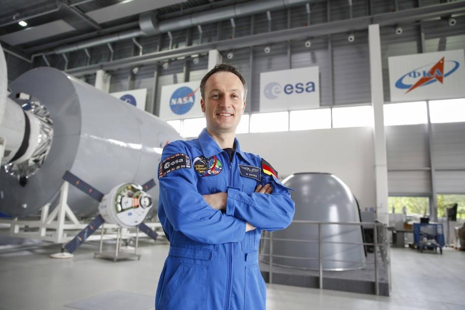 """Astronaut Maurer vor dem Simulator: """"Wir werden unter Druck gesetzt, sind in einer gefährlichen Situation"""""""