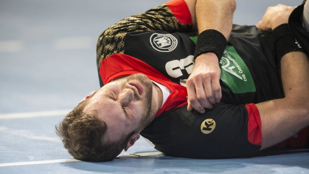 Deutschlands Handballer gehen am Stock