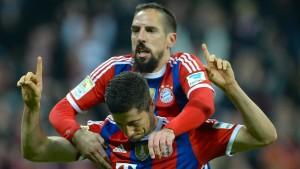 Die Bayern erzwingen den Sieg
