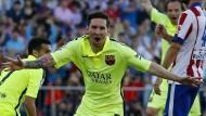 Messi schießt Barcelona zum Titel