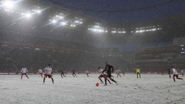 Leverkusen bleibt im Schnee stecken
