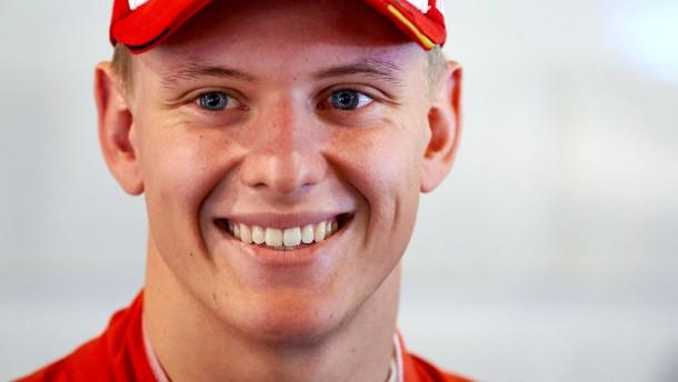 """""""Bin glücklich, Sohn des größten Formel-1-Piloten aller Zeiten zu sein"""""""