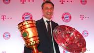 Großer Ertrag: Niko Kovac gewinnt mit den Bayern den Pokal und die Meisterschaft.