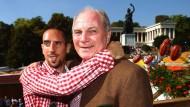 Mehr als nur ein Präsident: Franck Ribery gratuliert Uli Hoeneß zum 60. Geburtstag