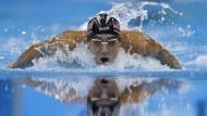 Phelps schwimmt wieder allen davon