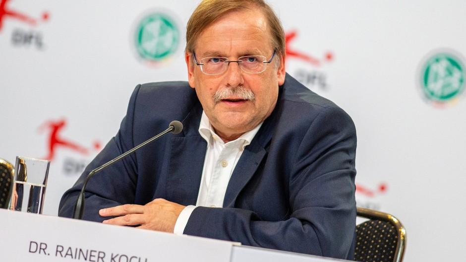 Rainer Koch bleibt beim DFB weiter im Spiel.