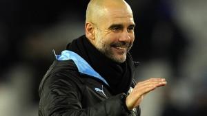 Guardiola kann wieder lächeln