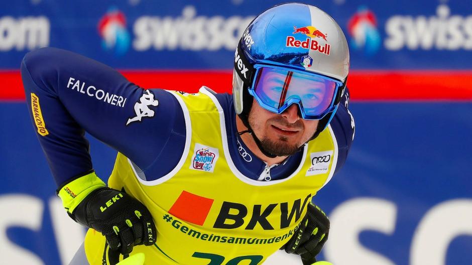 Galt als großer Favorit für das Rennen in Kitzbühel: Dominik Paris, hier in Wengen