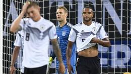 Spiel gedreht, Deutschland besiegt