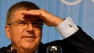 Das sieht gut aus: IOC-Präsident Thomas Bach erhält Unterstützung.