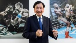 Grüße von Wu, IOC EB-Member