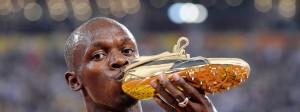 Usain Bolt verabschiedet sich bei der WM von der Leichtathletik-Bühne.