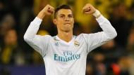 Schon wieder zweifacher Torschütze: Ronaldo