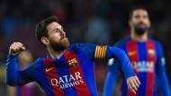 Die nächste Gala von Messi und Barcelona