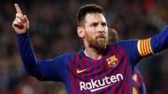 Nicht nur im Hinspiel gegen Liverpool glänzte Barcelonas Star Lionel Messi.