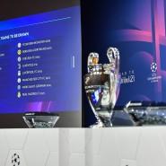 Es ist angerichtet: die Auslosung des Champions-League-Achtelfinales findet in Nyon statt.