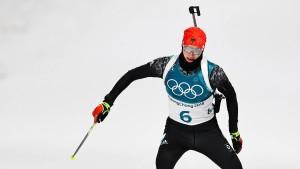 Doll holt Biathlon-Bronze bei Fourcade-Triumph